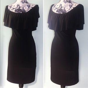 Annalee + Hope Dresses - Black Off The Shoulder Dress